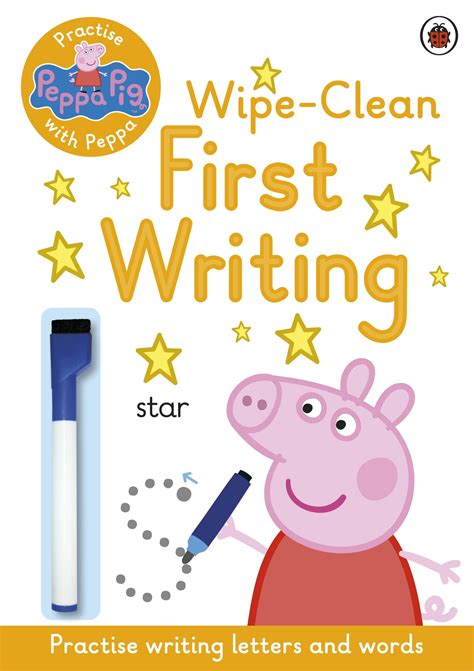 Peppa Pig Practise With Peppa WipeClean First Writing