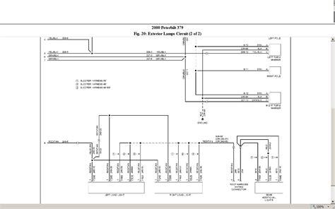 peterbilt brake light wiring diagram