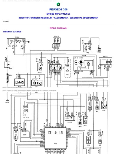 peugeot 306 wiring diagram