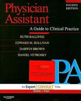 Physician Assistant A Guide To Clinical Practice
