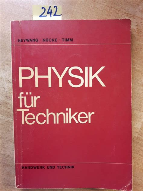 Physik Fr Techniker