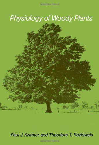 Physiology Of Woody Plants Kozlowski Theodore T Pallardy Stephen G ...