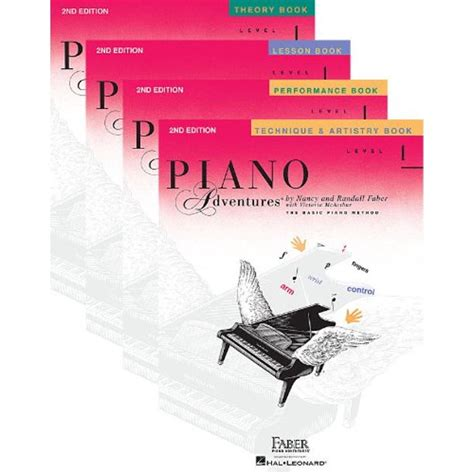 Piano Adventures Level 2a Set 4 Book Set Lesson Theory Technique Artistry Performance Books