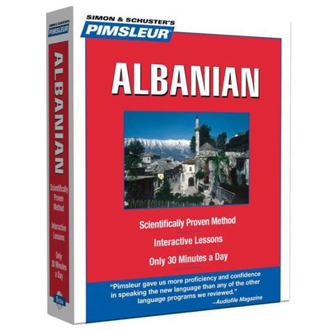 Pimsleur Albanian Level 1 Cd Learn To Speak And Understand Albanian With Pimsleur Language Programs Compact