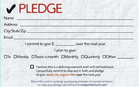 Pledge Cards Templates (ePUB/PDF)