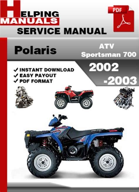 Polaris 700 Manuals (ePUB/PDF)