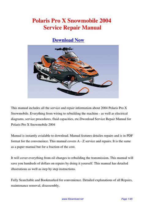 Polaris Pro X Manual (Free ePUB/PDF)