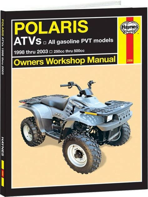 Polaris Sportsman 500 Service Manual 2001 (ePUB/PDF) Free