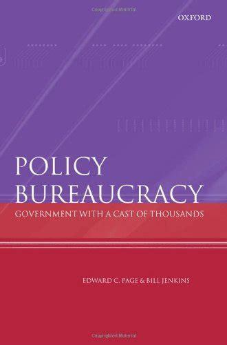 18c87a1c Policy Bureaucracy Page Edward C Jenkins Bill [PDF Book]