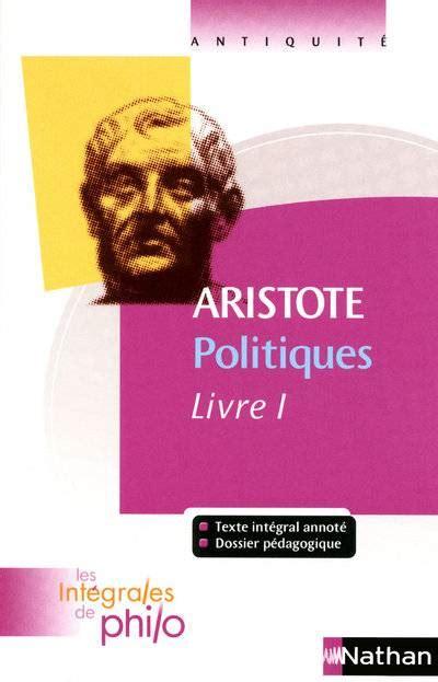 Politiques Livre I