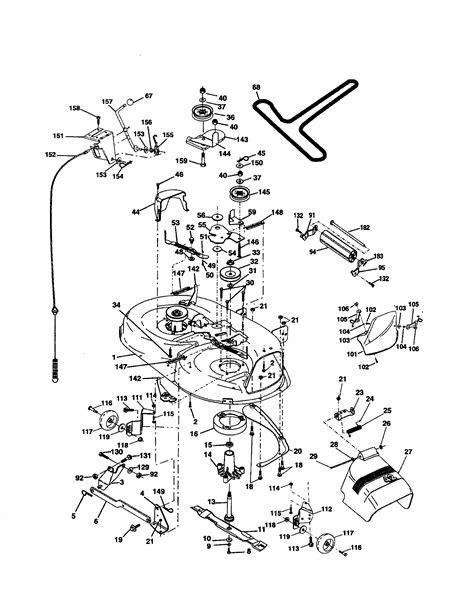poulan lawn tractor wiring diagram