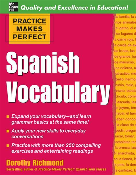 Practice Makes Perfect Spanish Vocabulary 2nd Edition By