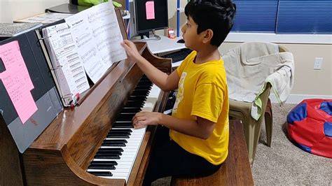 Practising The Piano Part 3 Scales And Arpeggios English