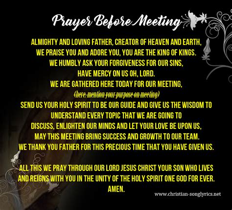 Opening Prayer For Church Service Tagalog