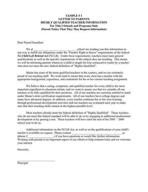 Prefect Letter To Parents (ePUB/PDF)
