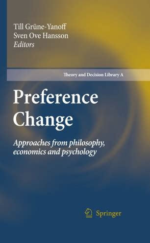 Pleasing Preference Change Hansson Sven Ove Grne Yanoff Till Epub Pdf Wiring Digital Resources Remcakbiperorg
