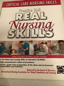 Prentice Hall Real Nursing Skills Critical Care Nursing Skills
