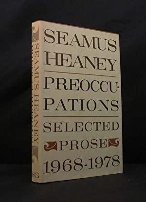 Preoccupations Heaney Seamus (ePUB/PDF) Free