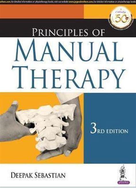 Principles Of Manual Therapy Deepak Sebastian (ePUB/PDF)