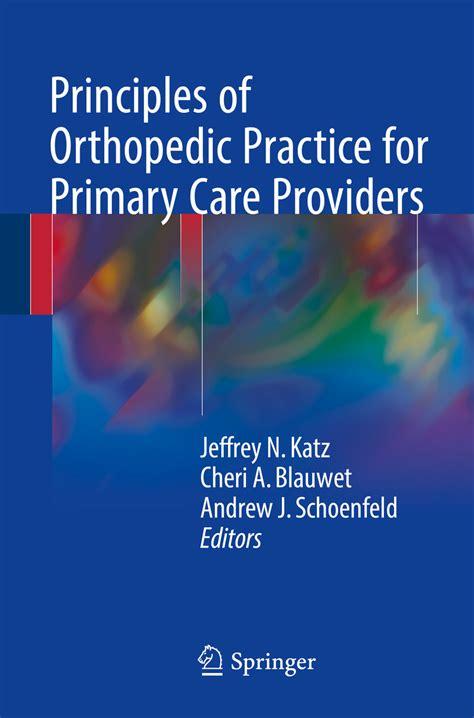 Principles Of Orthopaedic Practice (ePUB/PDF) Free