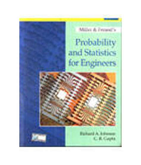 Probability And Statistics For Engineers And Scientists Walpole