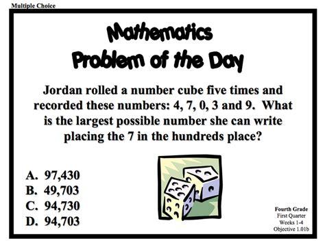 Problem Of The Day Math 4th Grade (ePUB/PDF)