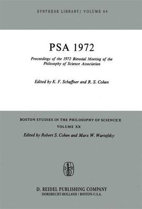 Phenomenal Proceedings Of The 1972 Biennial Meeting Of The Philosophy Of Wiring Cloud Nuvitbieswglorg