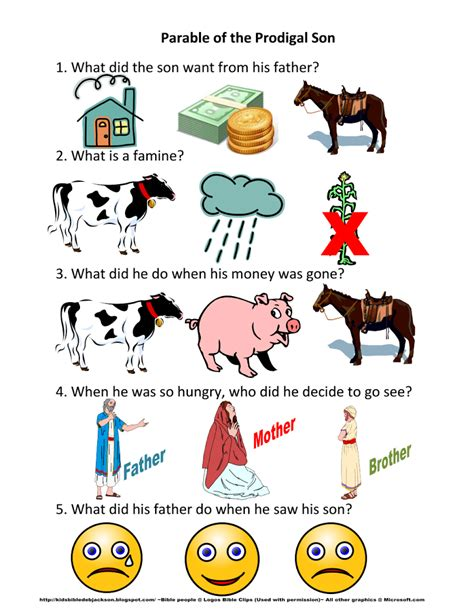 Prodigal Son Games For Preschool (ePUB/PDF)