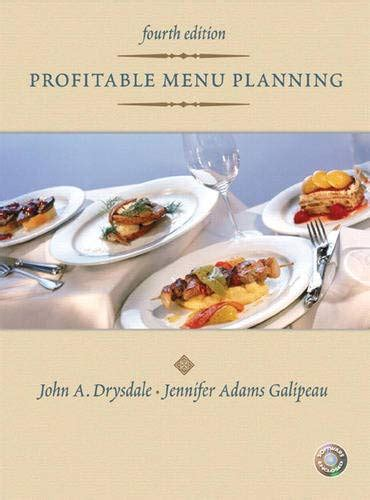 Profitable Menu Planning 4th Edition