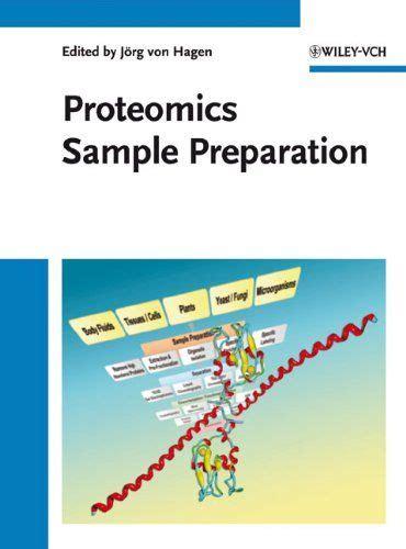 Proteomics Sample Preparation Von Hagen J 246 Rg (ePUB/PDF)