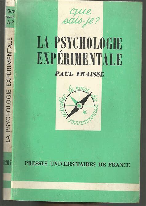 Psychologie Experimentale (ePUB/PDF) Free