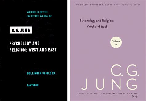 Psychology And Religion West And East The Collected Works Of C G Jung Volume 11