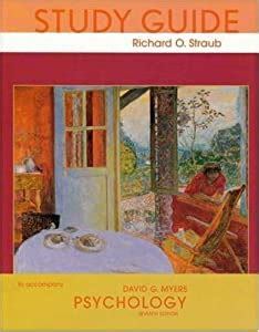 Psychology Seventh Edition Study Guide