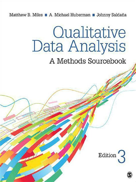 Qualitative Data Analysis A Methods Sourcebook