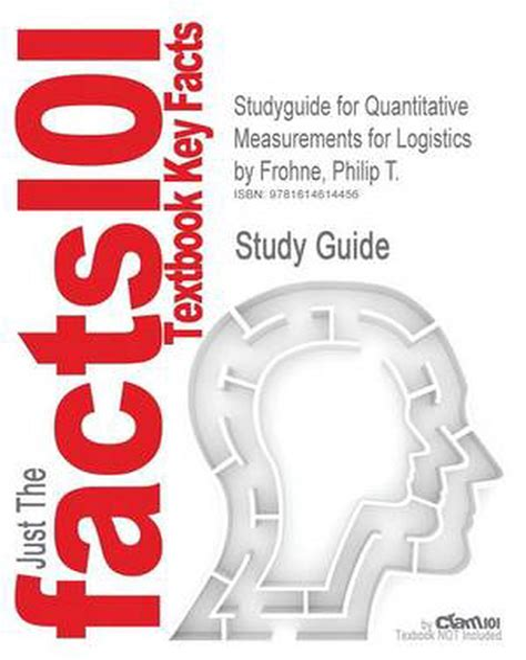 Quantitative Measurements For Logistics Frohne Philip (ePUB