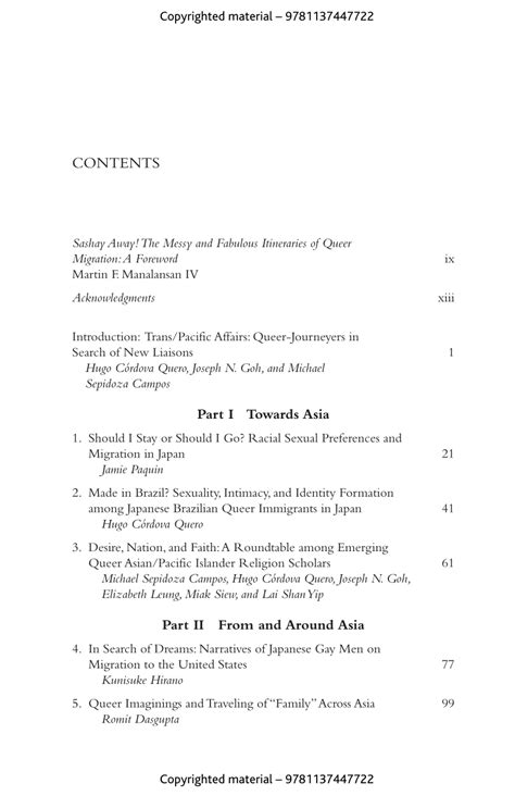 Queering Migrations Towards From And Beyond Asia