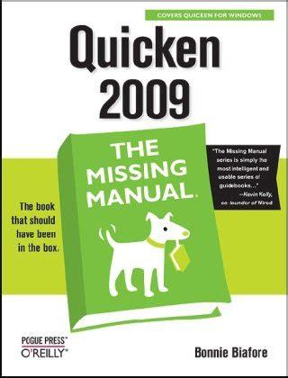 Quicken 2009 The Missing Manual Biafore Bonnie (ePUB/PDF)