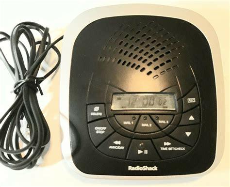 Radio Shack 43 3829 Digital Answering Machine Manual (ePUB/PDF)