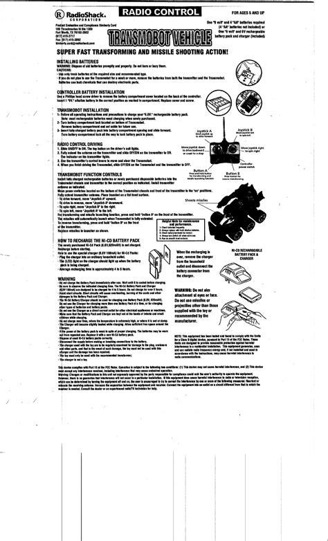 Radio Shack Automobile Manuals (ePUB/PDF)