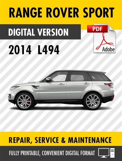 Range Rover Sport Service Manual Air Suspension (ePUB/PDF)