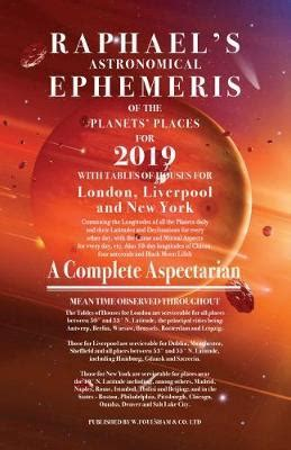 Raphaels Ephemeris 2019 (ePUB/PDF) Free