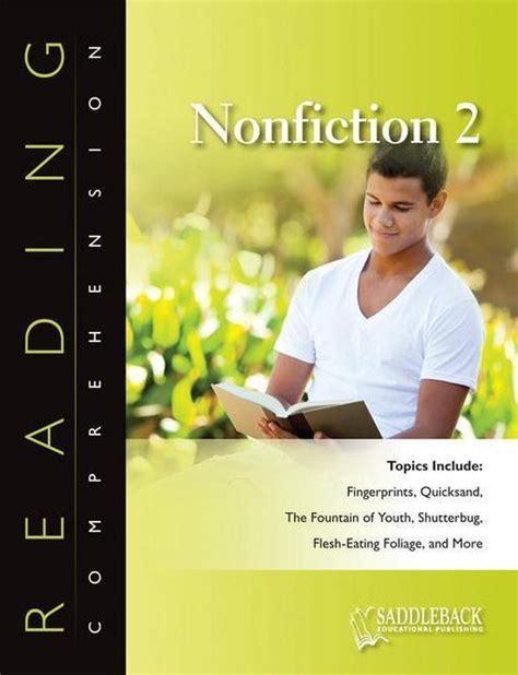 Reading Comprehension Nonfiction 1 Saddleback Educational