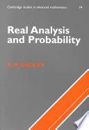 Real Analysis And Probability Dudley R M (ePUB/PDF)