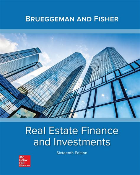 Real Estate Finance Investments Intl Ed