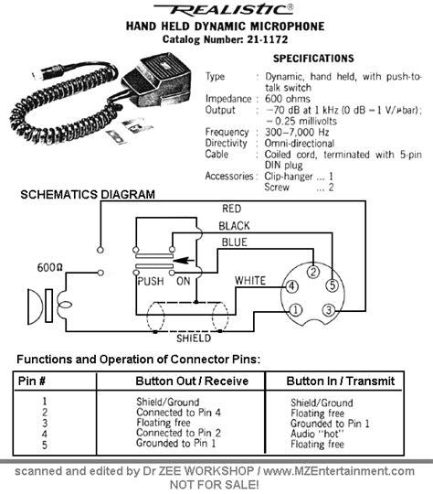 Realistic Cb Mic Wiring Diagram (ePUB/PDF) Free