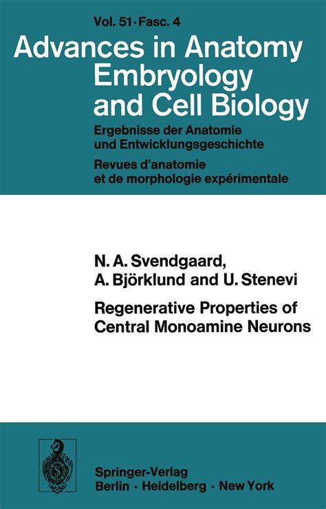 Regenerative Properties Of Central Monoamine Neurons Bjrklund A