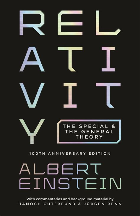 Relativity The Special And General Theory Albert Einstein Modern Library Classics Annotated