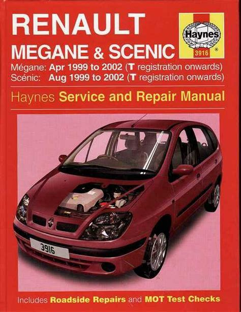 Renault Megane Scenic Manuals (ePUB/PDF)
