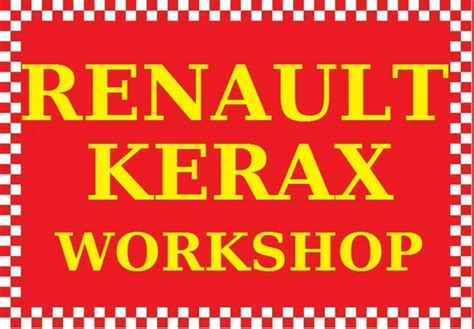 Renault Kerax Dci 11 Truck Lorry Wagon Workshop Shop Service ...