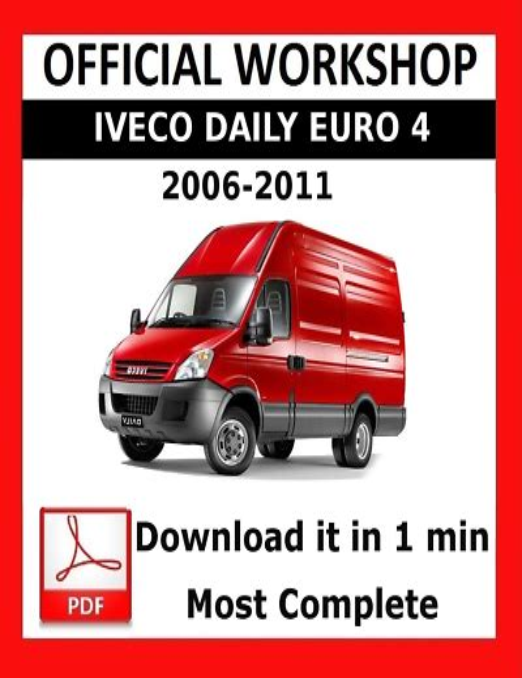 Repair Manual Iveco Daily (ePUB/PDF)
